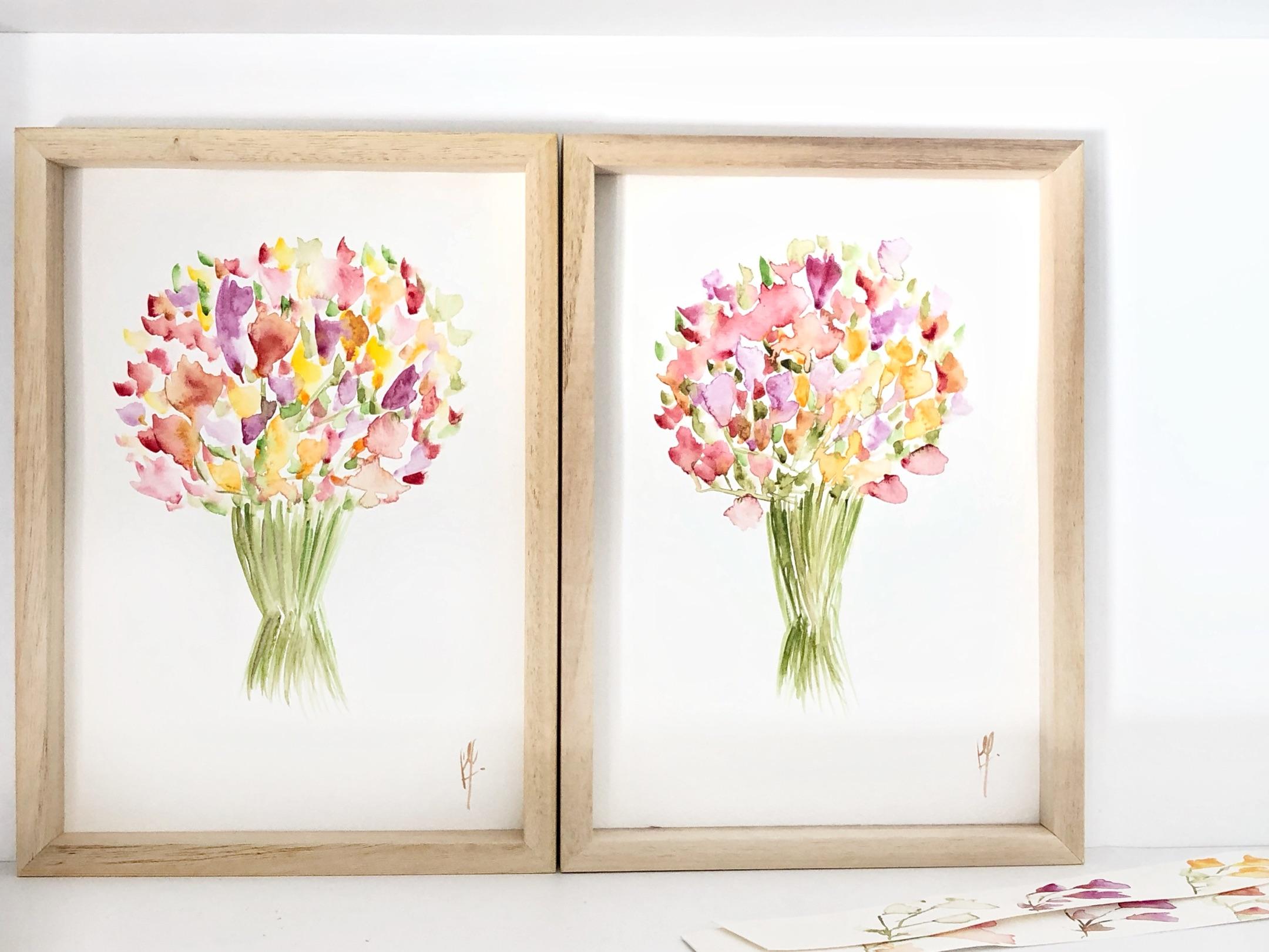 Huellas en flor: barajar y dar de nuevo